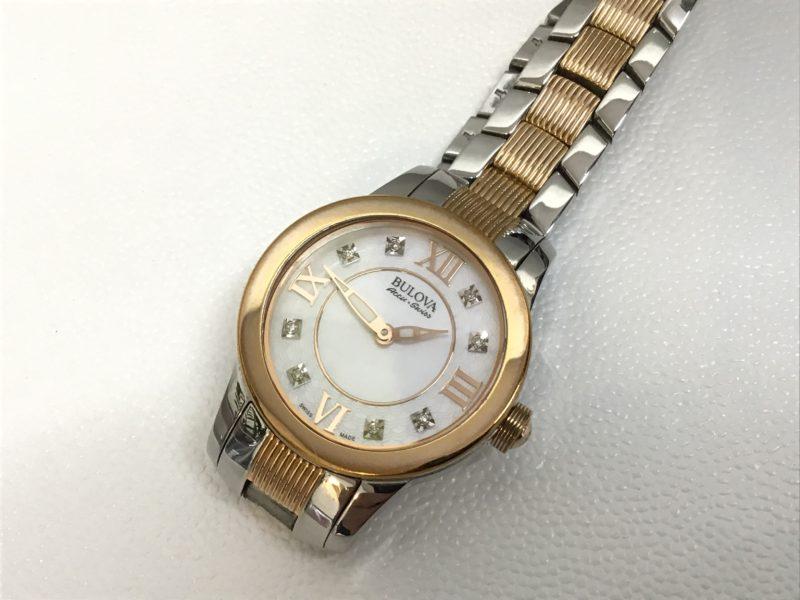 BULOVAの腕時計の電池交換_65P109