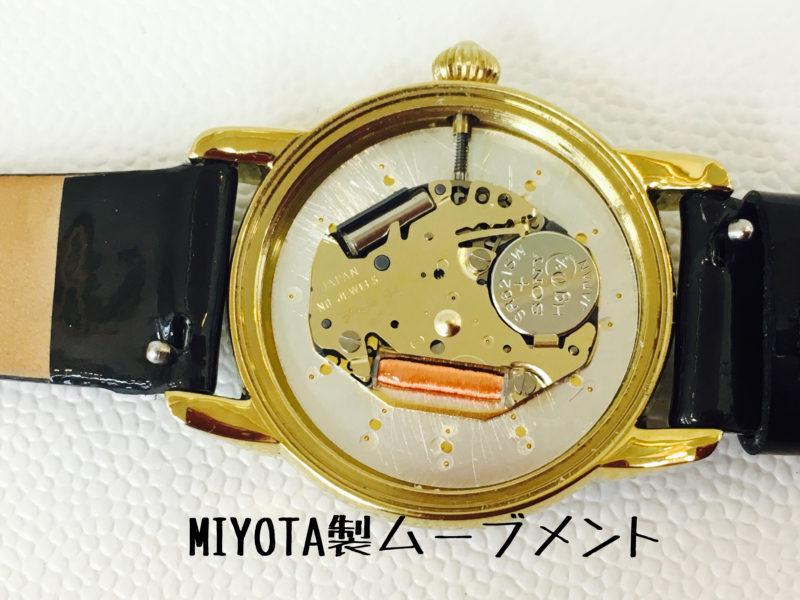 Orobiancoの腕時計にはMIYOTA製ムーブメントが搭載されていました