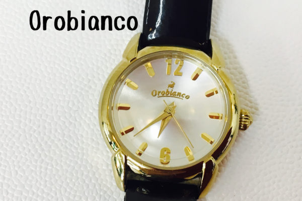 orobiancoの腕時計の電池交換はお待ちの間に出来ます!