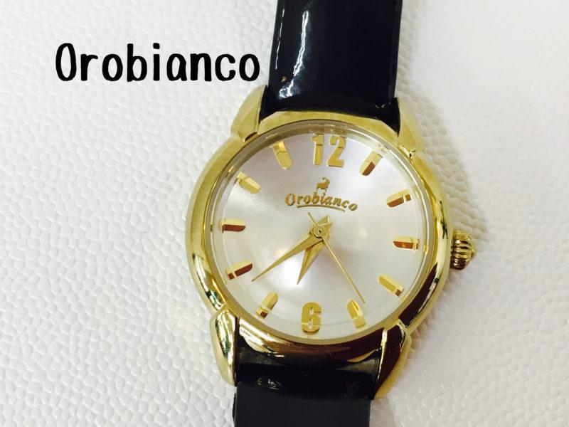 Orobiancoの腕時計の電池交換