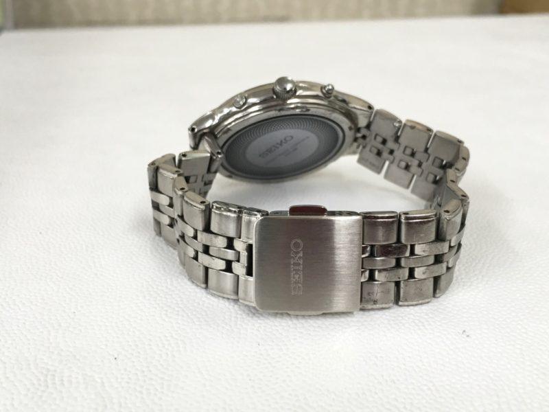 セイコー腕時計のベルト修理