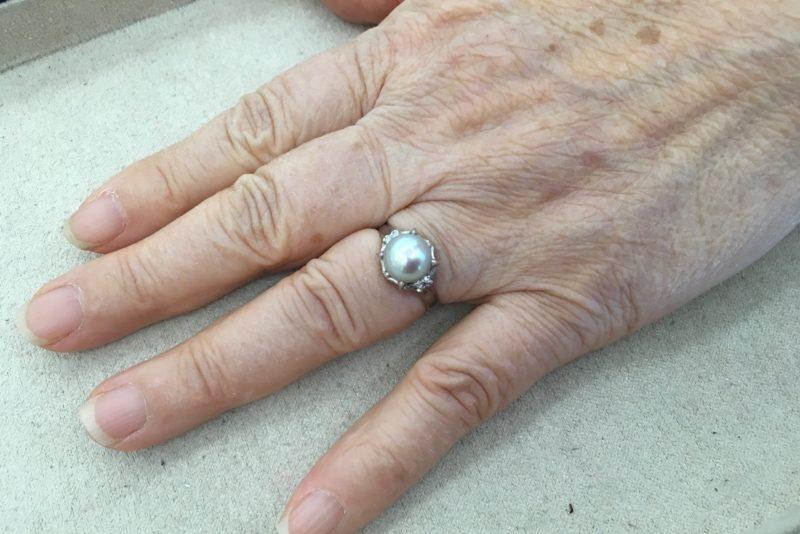 指輪が抜けなくなってしまった。