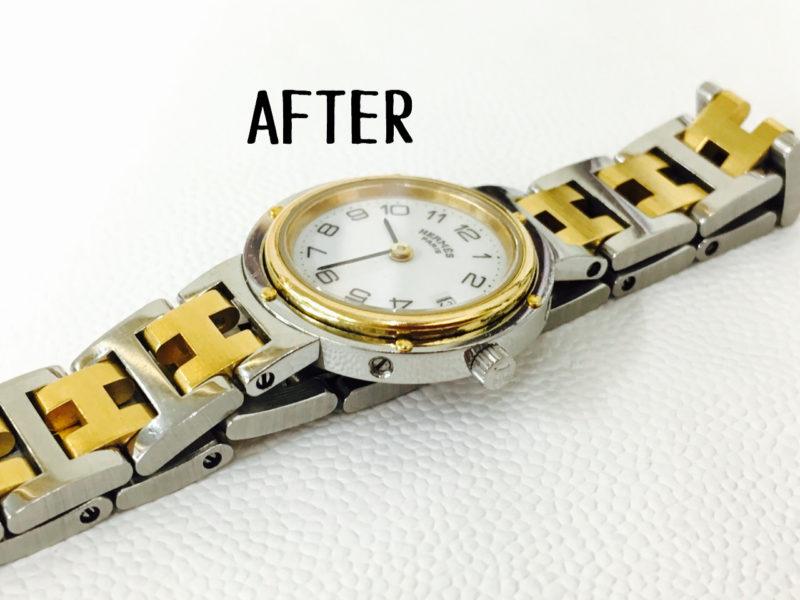 エルメス_クリッパーの修理