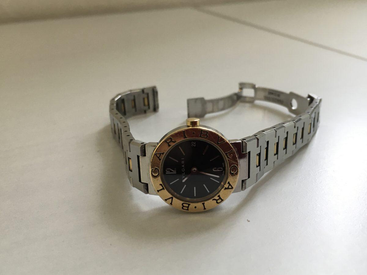ブルガリ腕時計のベルト溶接修理