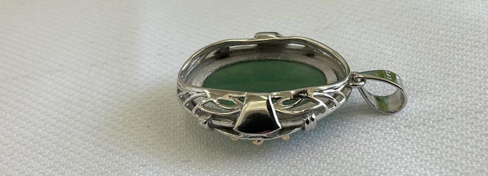 指輪をペンダントにリフォーム