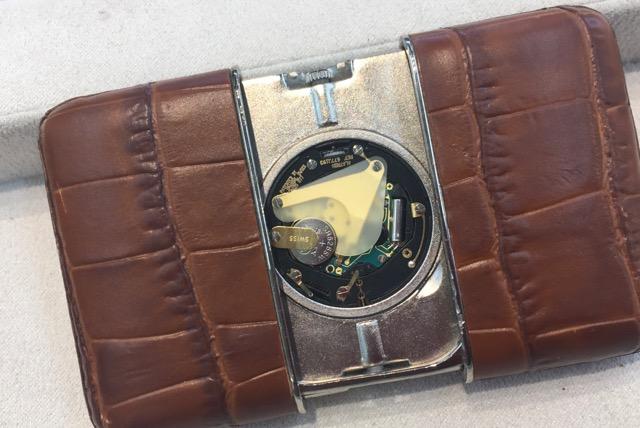 モンブラン置き時計_電池交換
