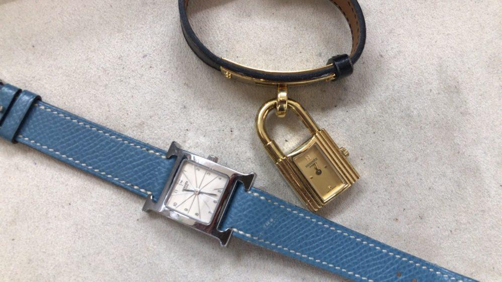 エルメス腕時計_電池交換