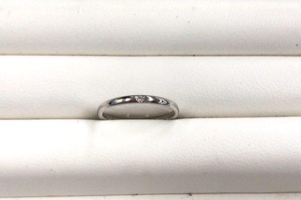 富士吉田市にお住いのW様から結婚指輪のサイズ直しを承りました。