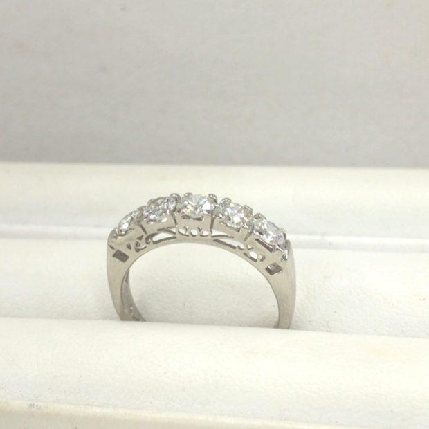 30年前の指輪を作り替えました。 AFTER