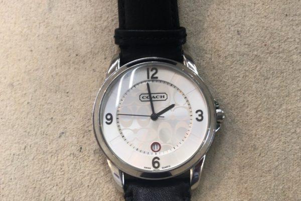 COACH腕時計の電池交換