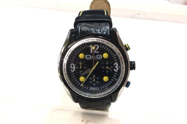 D&Gの腕時計の電池交換