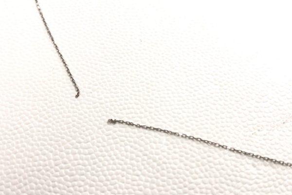切れてしまったネックレスの修理