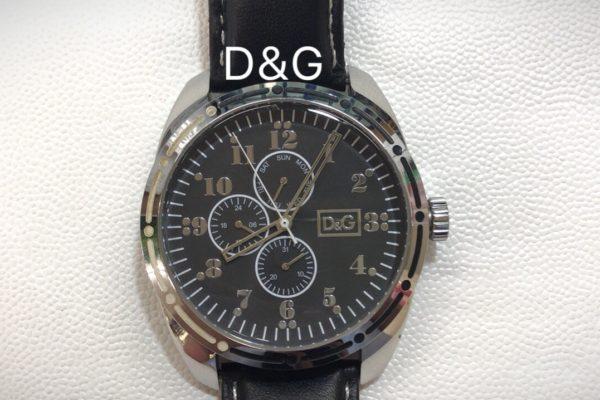 D&Gの腕時計の電池交換すぐ出来ます。