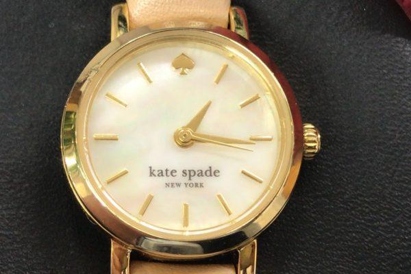 ケイト・スぺードの腕時計の電池交換すぐ出来ます。