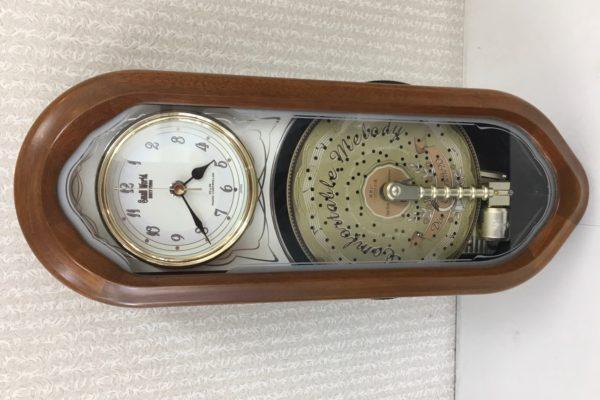 電波掛時計の修理