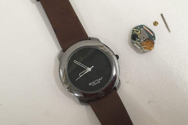 ベネトン腕時計の修理