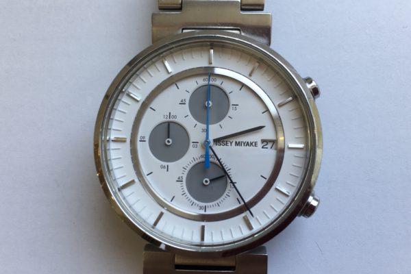 イッセイミヤケの腕時計の修理を承りました。