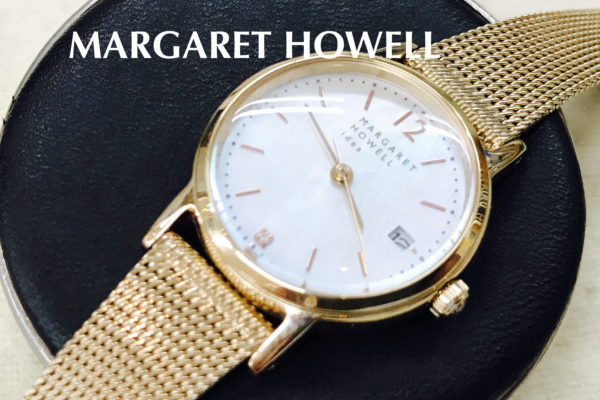 MARGARET HOWELL〜マーガレットハウエル〜の電池交換は店頭でお待ちの間にできます。