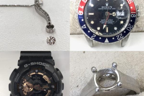 腕時計の修理、郵送受付の流れ