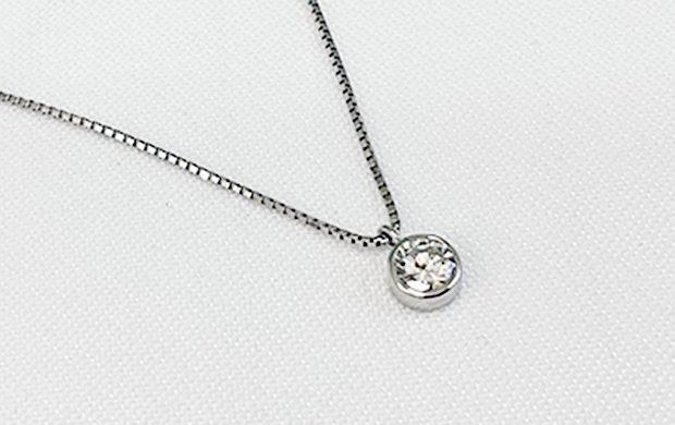 ダイヤモンド立て爪リングのリフォーム、同じようなデザインリングお持ちじゃありませんか? AFTER