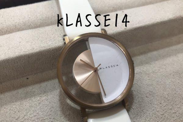 KLASSE14の電池交換は店頭でお待ちの間にできます。
