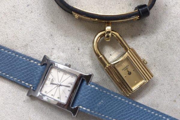 エルメスの腕時計の電池交換は店頭でお待ちの間に出来ます。